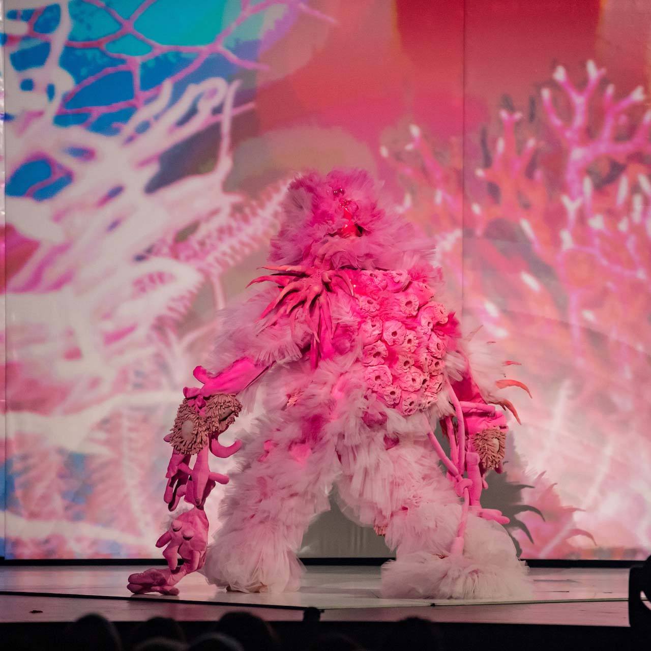 CORAL CLUSTER, World of WearableArt 2018