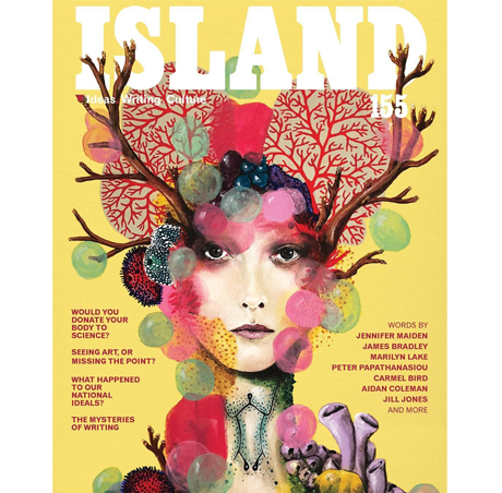 life.e.quatic 2.2 on the front cover of Island Magazine
