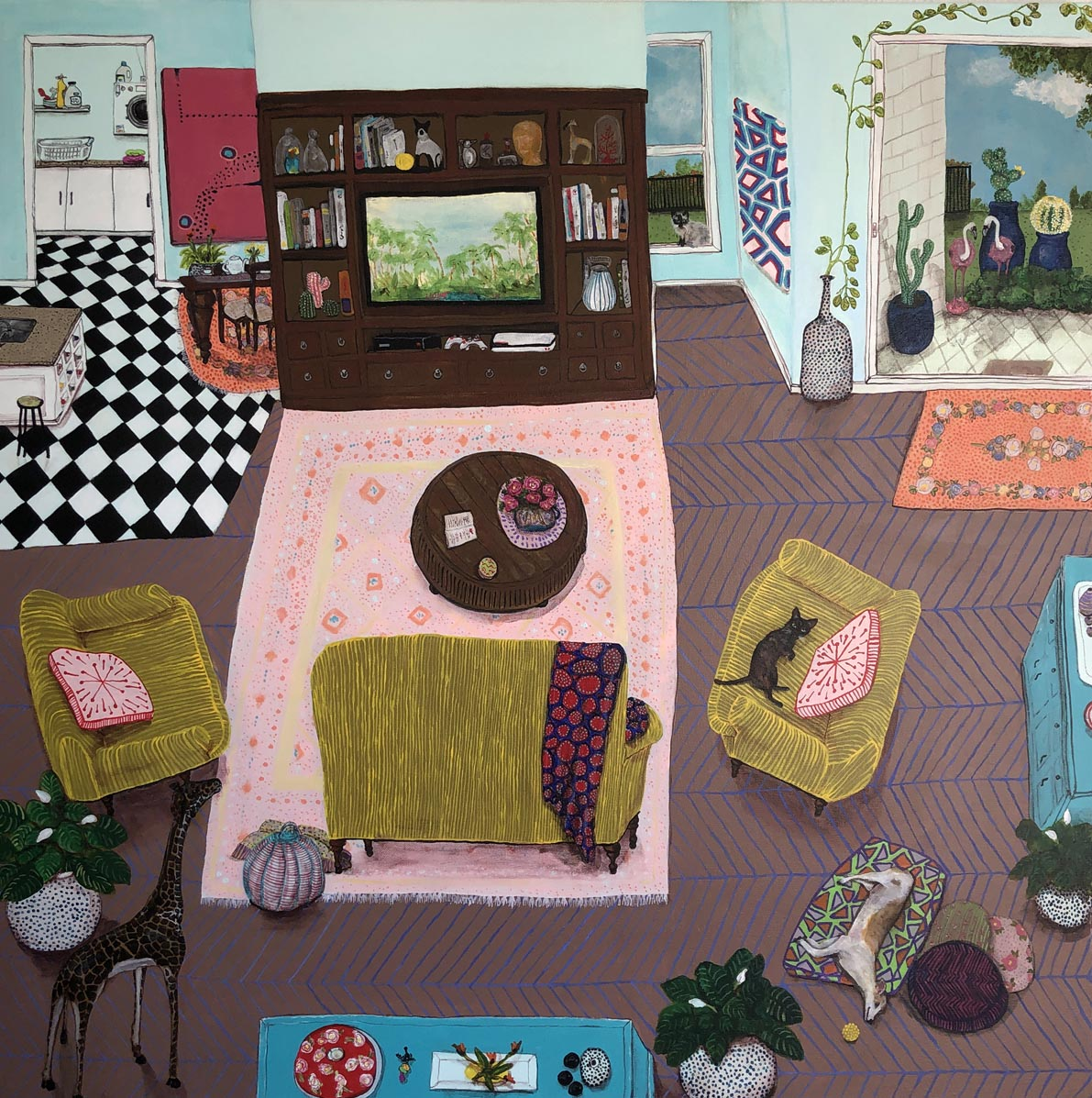 life@home, exhibition 27 Feb.  Anthea Polson Art