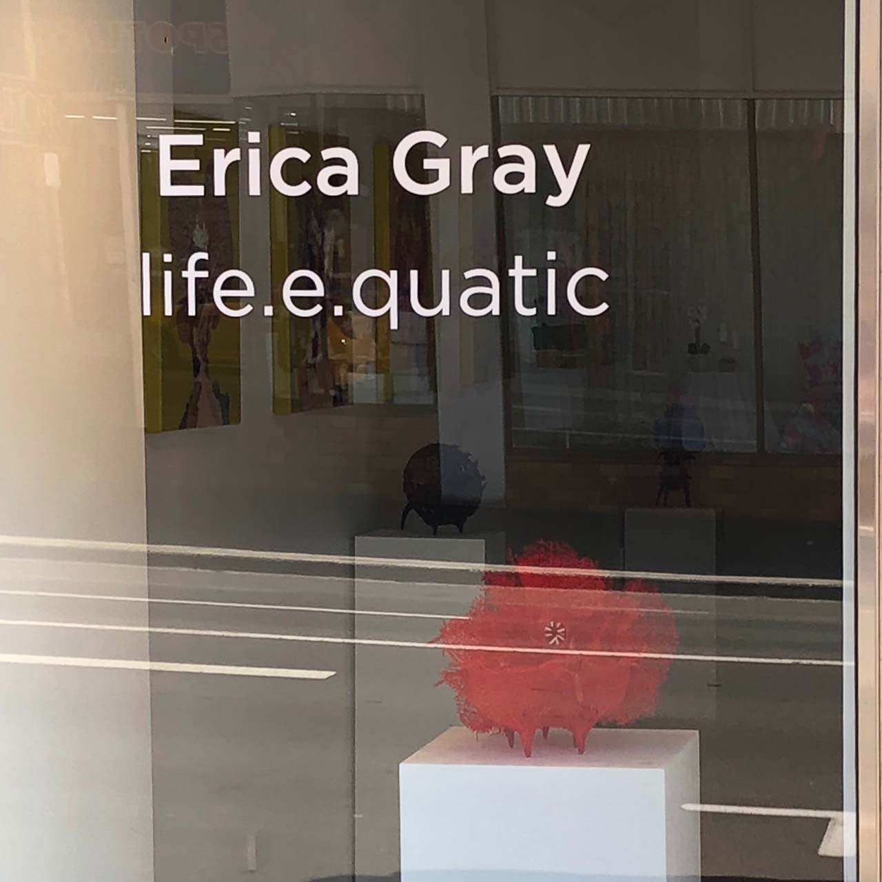 #ericagrayartist #pennycontemporary #exhibition