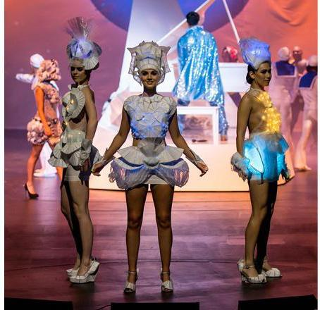 Runner up for the Wearable Technology Award in the 2017 World of WearableArt Awards Show