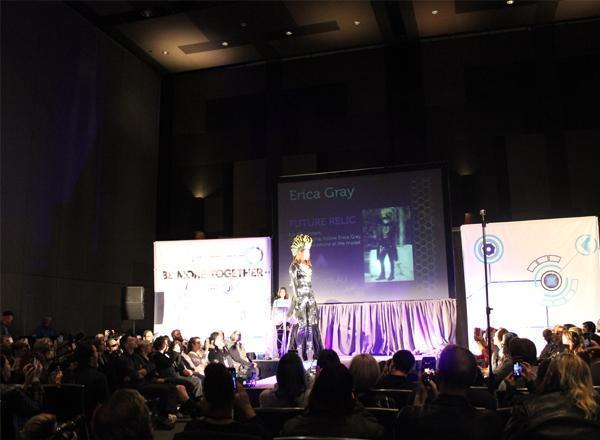 The BDYHAX Fashion Tech Show , In January 2017, designers & artists from around the world converged on Austin,Texas USA at the first ever Put Together fashion tech show. Showcasing pieces that utilize 3D printing, responsive tech, and AR
